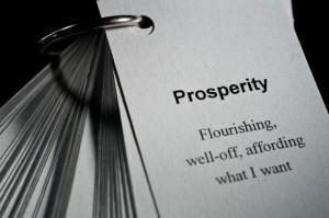 prosperity defined